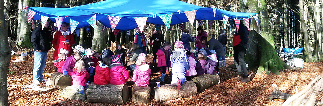 Mud Pies nature classes for young children in Aberdeen and Aberdeenshire